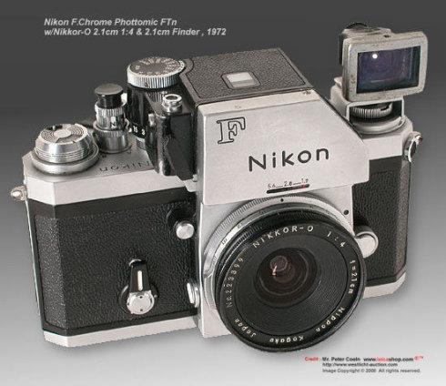 尼康相机收藏知识之一--尼康大F