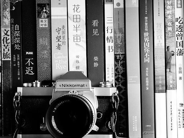 相机与书,构成了我简单的生活