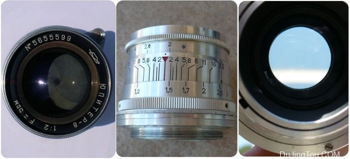 Russian <wbr>Jupiter-8 <wbr>50mm <wbr>f/2 <wbr>M39 <wbr>Lens