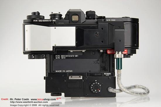 尼康F3 NASA 250单反相机的后/后视图