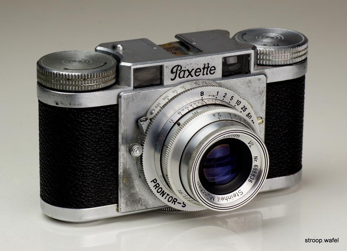 Braun Paxette我的照片