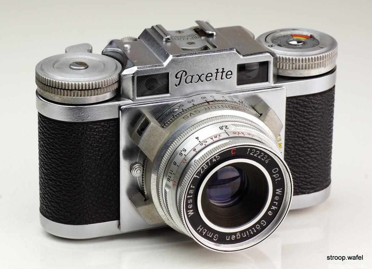 Braun Paxette IIM照片