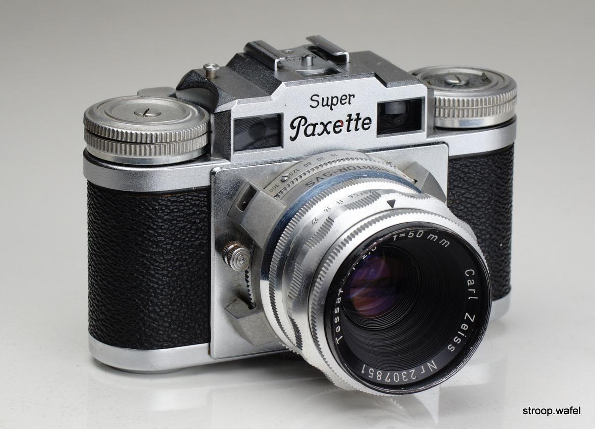 Braun Super Paxette我的照片