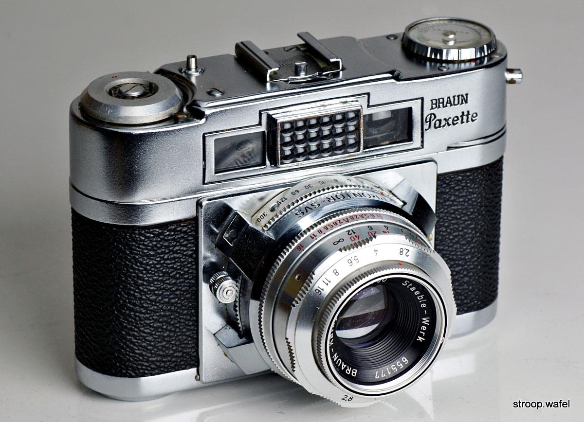 Braun Paxette Super IIB照片