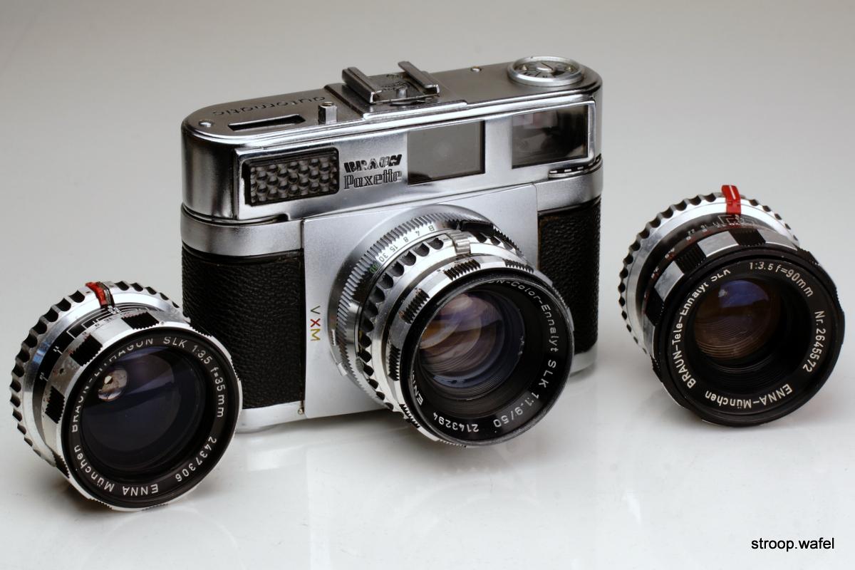 Braun Paxette Super III自动拍照