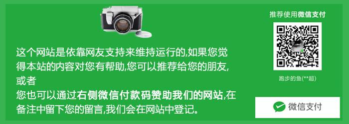 支持我们的网站