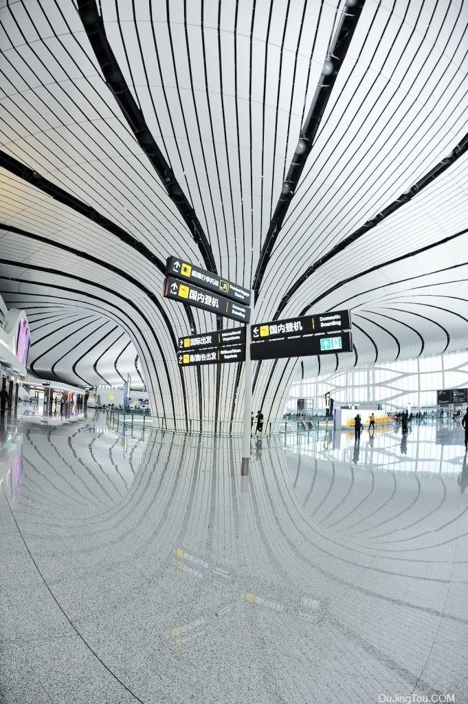 大兴机场航站楼四层-毒镜头 dujingtou.com