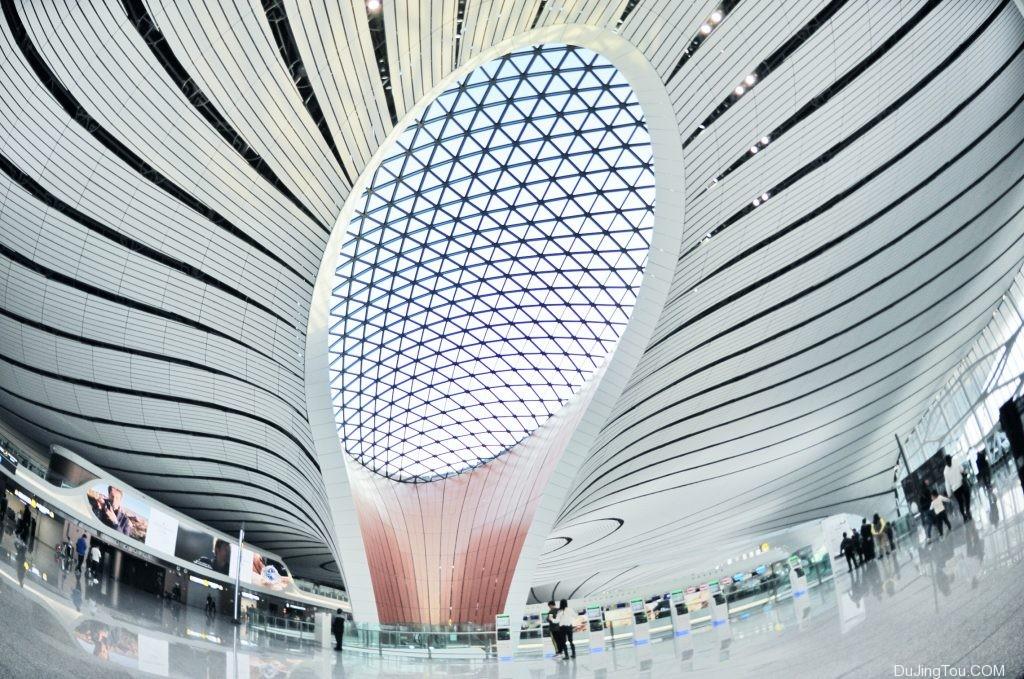 大兴机场航站楼-毒镜头 dujingtou.com
