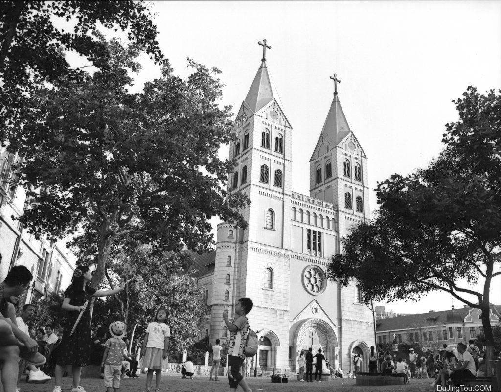 Bronica etr MC 50/2.8  青岛 圣弥厄尔教堂