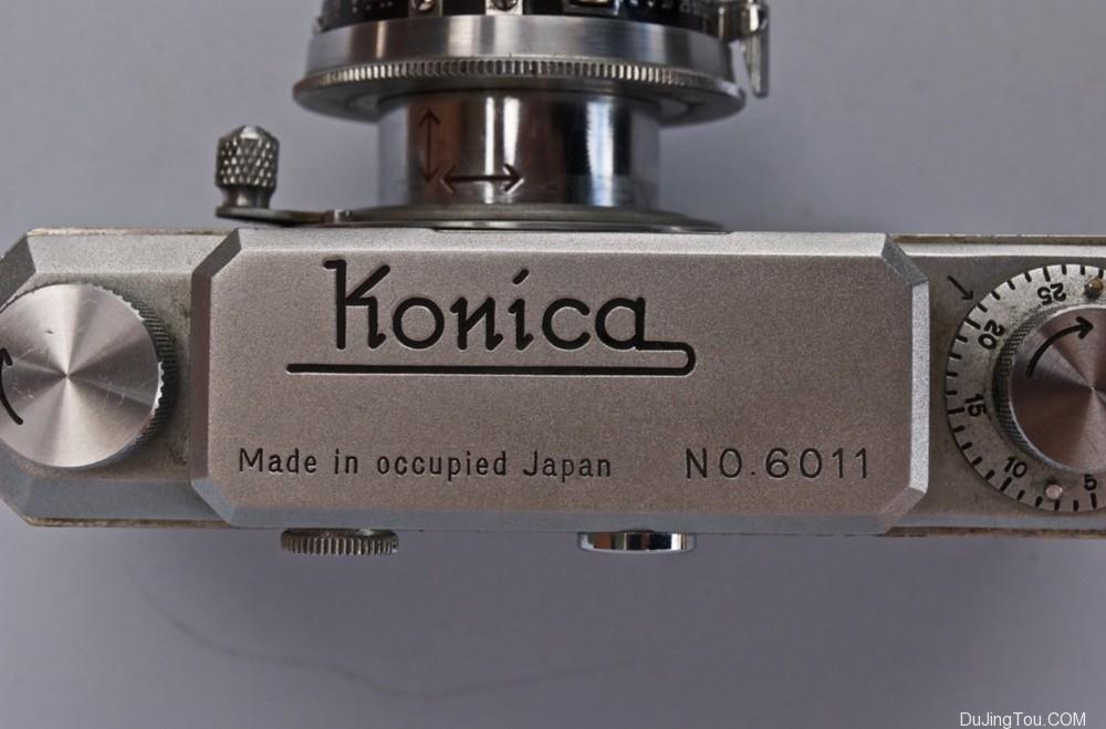 Konica I  机顶盖 Made in Occupid japan 版本