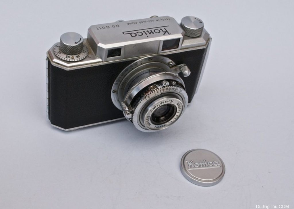 Konica I  机顶盖 Made in Occupid japan 版本