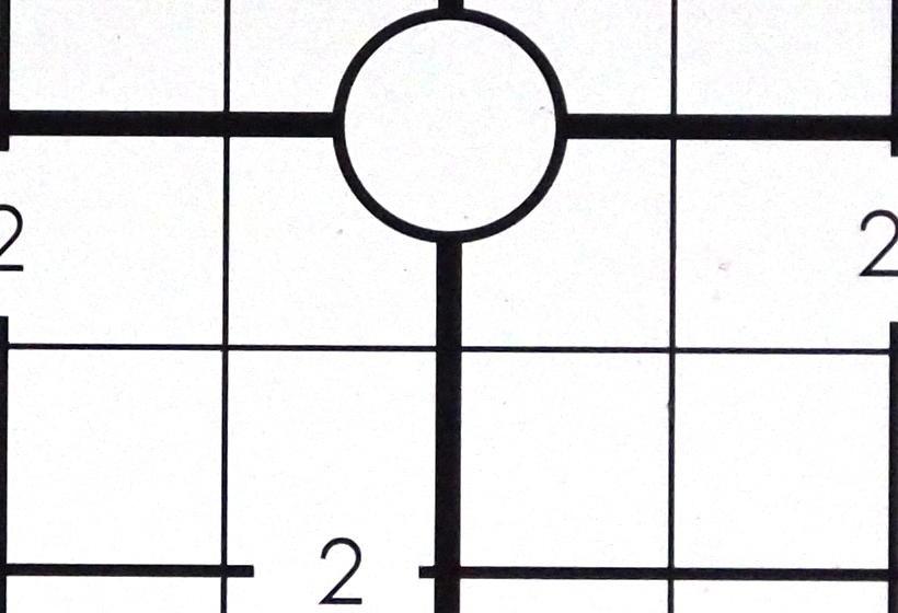 尼克尔(Nikkor)扫描仪40毫米,帧中心1x,1:1像素裁切。