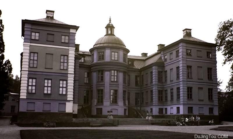 瑞典Finspång城堡,顶部:VIS,底部:UV。