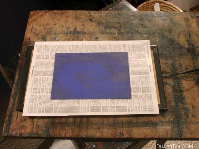 太阳能印刷,照相凹版印刷和聚合物照相凹版印刷 晒版