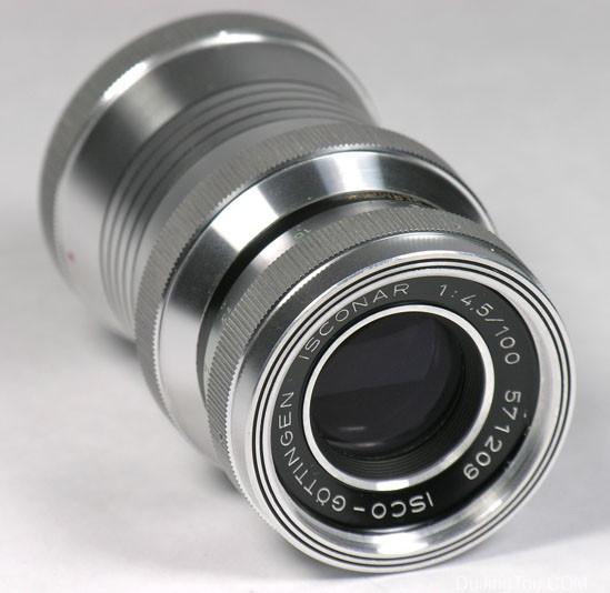 白银版Isco-Göttingen ISCONAR 100mm/F4.5(M42)镜头测试和样片
