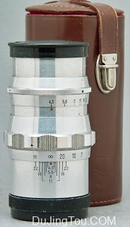 白银镜头Feinmess dresden BONOTAR 105mm / F4.5 (M42)镜头测试及样片