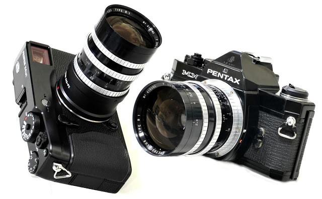第二版:P. Angenieux Retrofocus Type R1 2.5/35(M42) Rev.2 镜头测试及样片