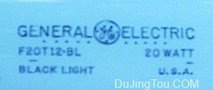 自制晒版机紫外线曝光装置