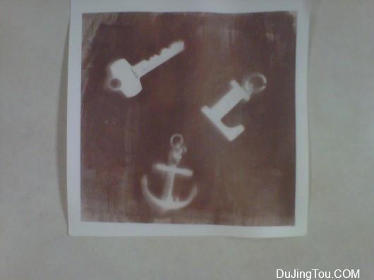 银盐印相:盐纸印刷品套版印刷