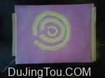 Azlein的摄影实验:花汁印相使用覆盆子显影