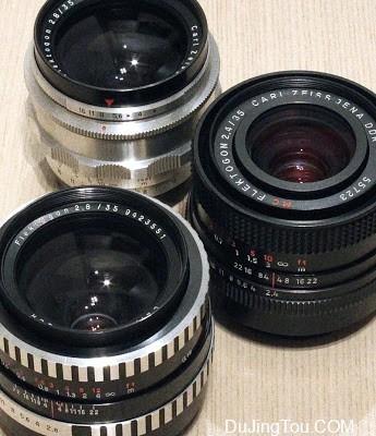 CZJ FLEKTOGON (M42) 35mm 三个版本镜头测试及样片