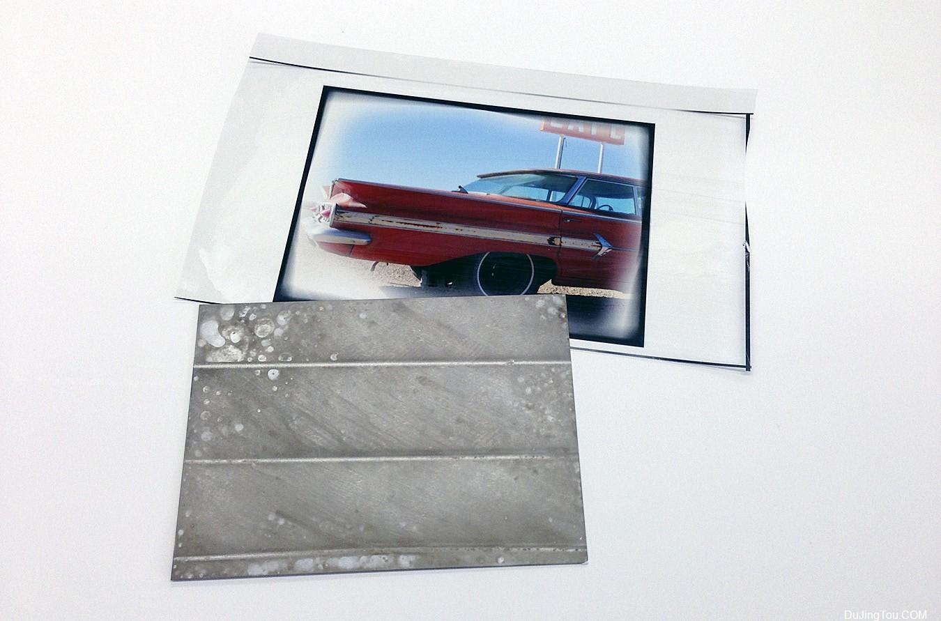 DASS WonderSauce转移至陈旧金属印相工艺