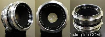Isco Göttingen WESTAGON 50mm/ F2(M42)镜头评测及样片