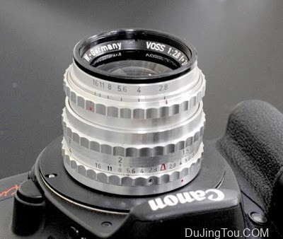 Piesker Berlin VOSS 35mm/F2.8 (M42)镜头转接测试及样片
