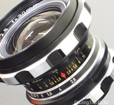 Rodenstock Eurygon 30mm/F2.8(M42)镜头评测及样片