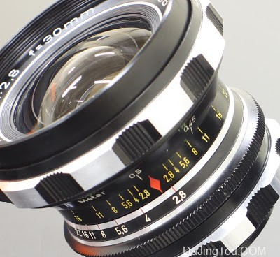 Rodenstock Eurygon 30mm/F2.8(M42)镜头评测及样片