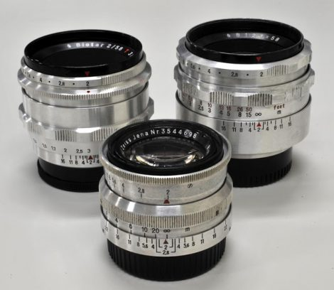 Carl Zeiss Jena BIOTAR 58mm/F2 3-SISTERS镜头评测及样片