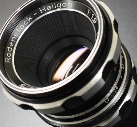 Rodenstock Heligon 50mm/F1.9 (M42) 罗顿斯德镜头测试及样片修订版