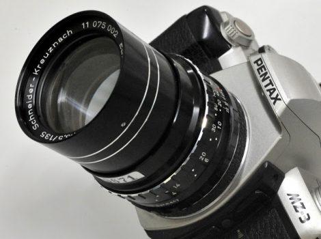 Schneider-Kreuznach TELE-XENAR 135mm/F3.5施耐德镜头测试及样片