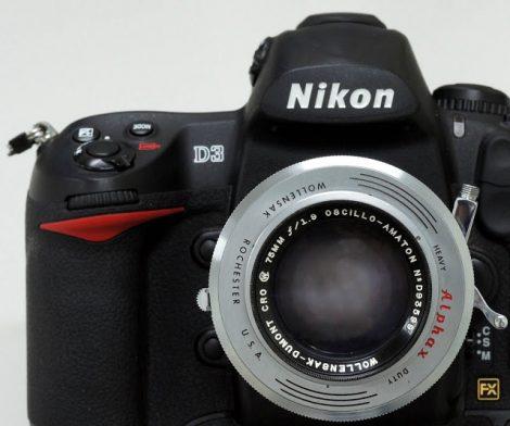 万轮莎Wollensak-Dumont CRO Oscillo-Amaton 75mm F1.9(modified M42)镜头测试及样片