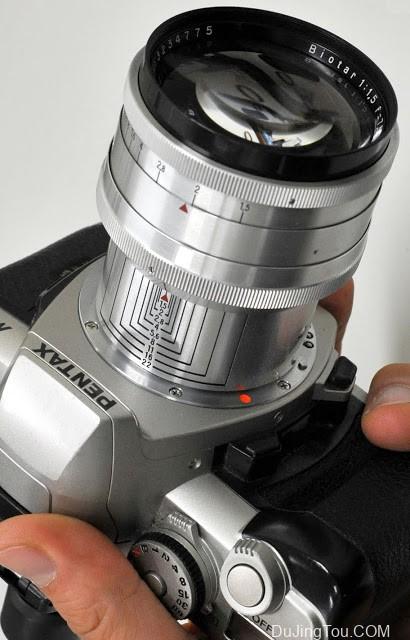 卡尔·蔡司  Carl Zeiss Jena Biotar 75mm F1.5 (M42, 2nd model)镜头评测和样片