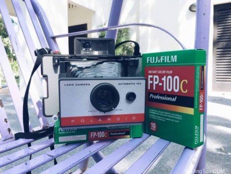 我尝试过Polaroid LAND拍立得LAND型号104的FP-100C