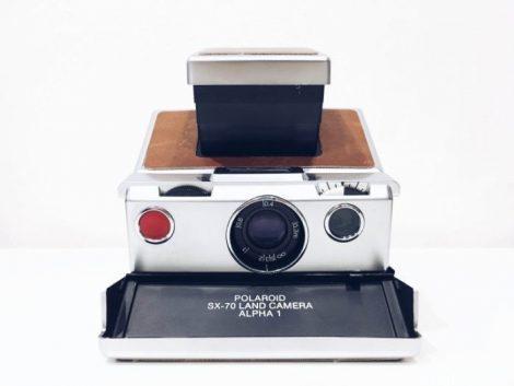 评论:SX-70,老式宝丽来LAND相机