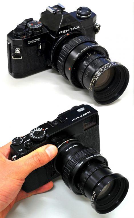通用科学公司 GENERAL SCIENTIFIC CORP. MILTAR 75mm F2, M42(改造) 镜头测试及样片
