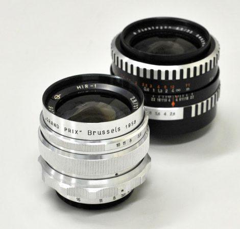 镜头评测ZOMZ MIR-1 37mm F2.8(M39) 和CZJ Flektrogon 35mm F2.8(M42)对比评测
