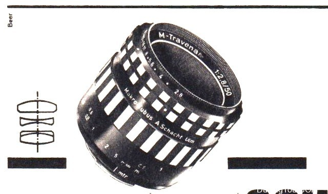 A.Schacht Ulm M-Travenar R 50mm F2.8(M42)肖特镜头测试及样片Schacht Macro Traveler