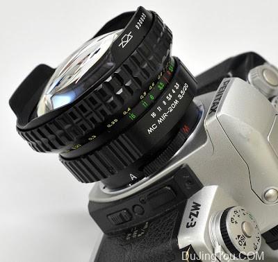 KMZ MC MIR-20M 20mm F3.5(M42) 和 Carl Zeiss Jena Flektogon 20mm F4(M42)镜头对比评测
