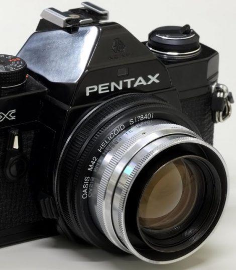 Neo-Topogon从2个Xenotar的镜组拼合而成的镜头