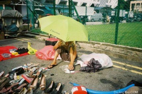 Nicole街拍样片:新加坡双溪路小偷市场