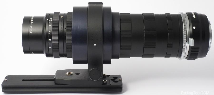 印刷镜头,尼康制版镜头 Nikkor 105 mm f / 2.8 A镜头测试及资料