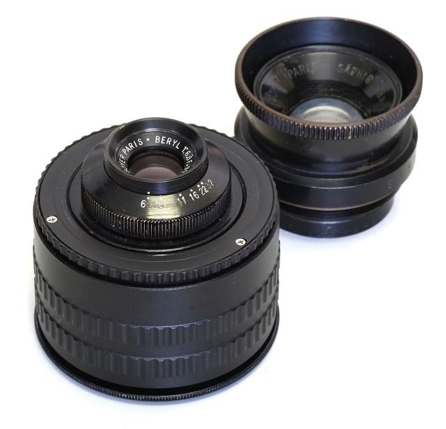 法国Boyer paris Beryl 90mm F6.8 and Saphir 《B》 100mm F4.5镜头测试及样片