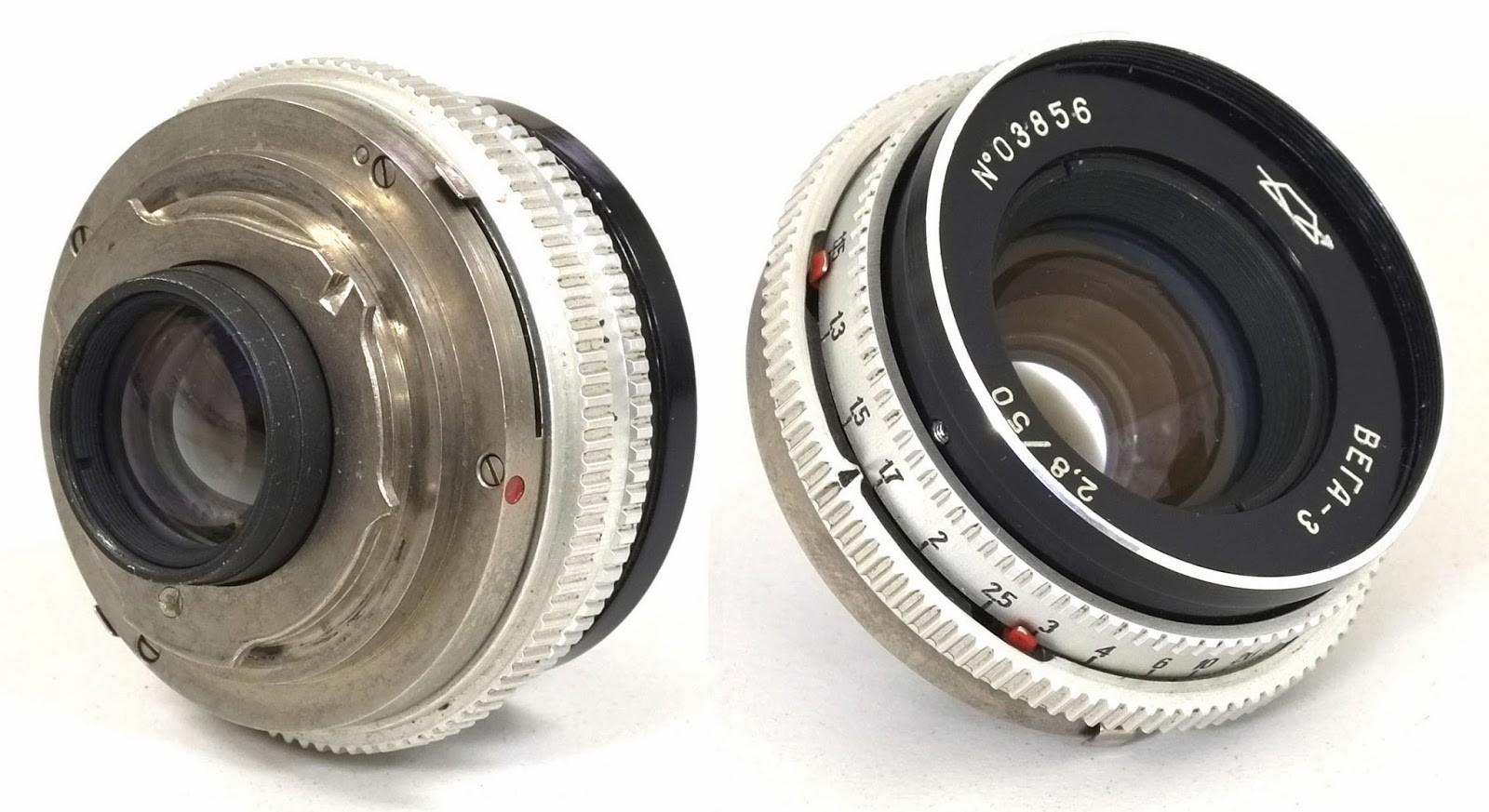 泽尼特 俄罗斯DKL卡口镜头KMZ VEGA-3 50mm F2.8 (Zenit 4/5/6 VIZ.
