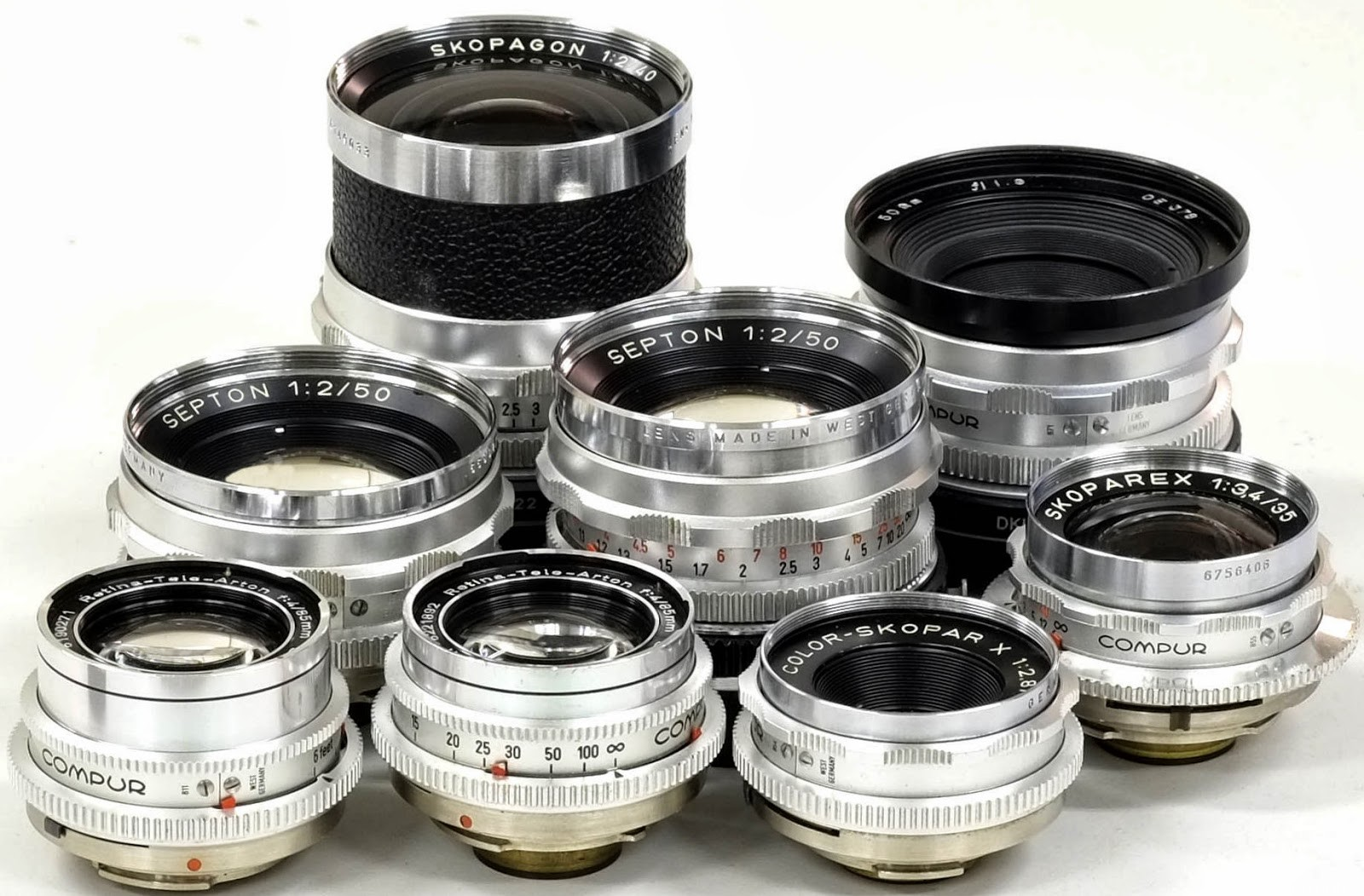 盘点常见DKL镜头 Deckel mount lenses镜头专题