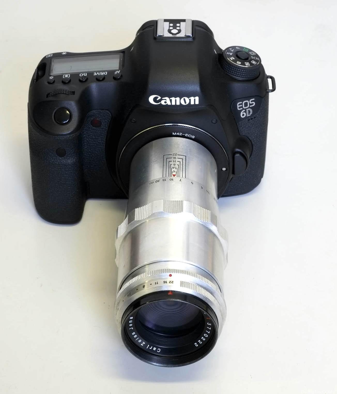 Carl Zeiss Jena Triotar 135mm F4(M42)镜头测试及样片