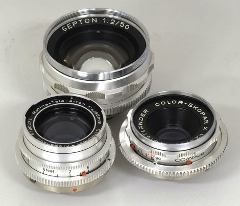 DKL卡口镜头列表 List of deckel-mount lense