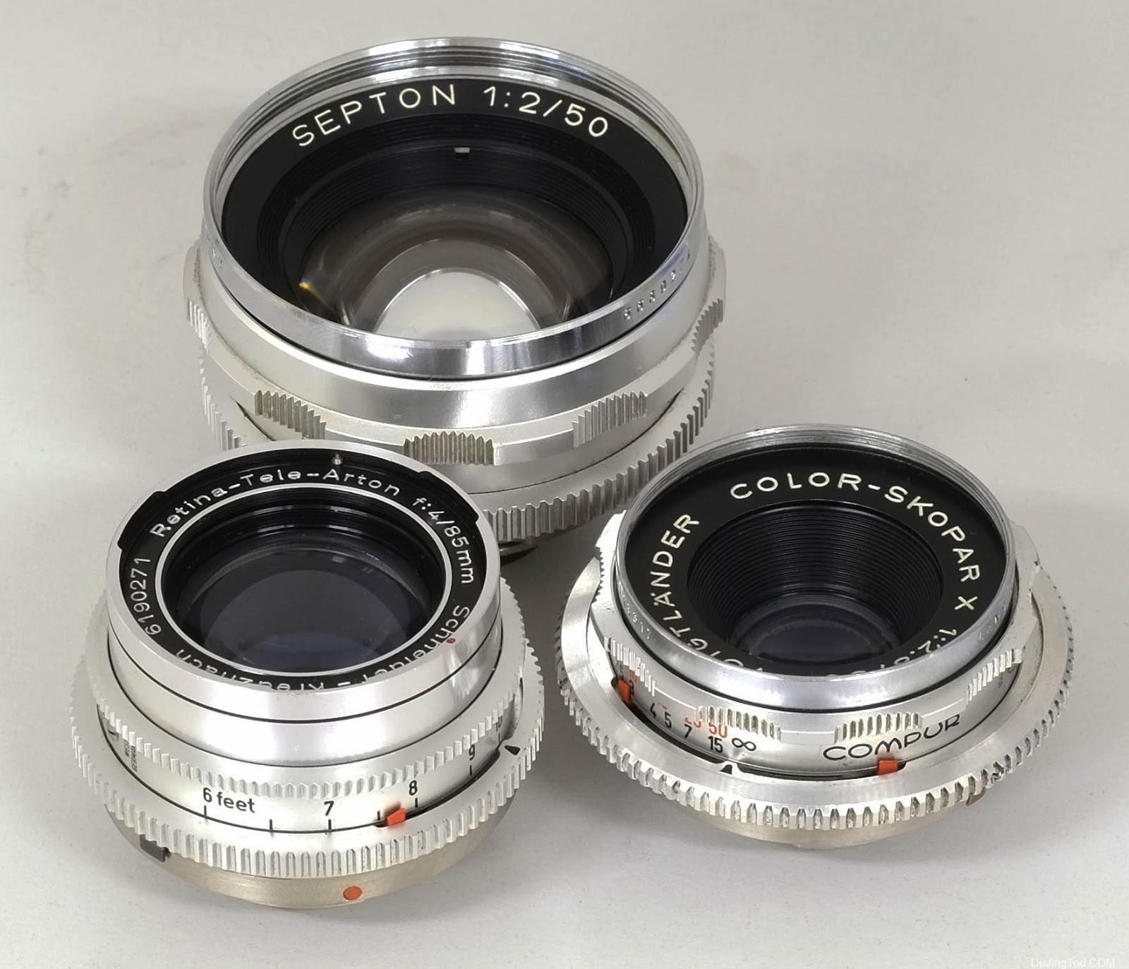 DKL卡口镜头列表 List of deckel-mount lense